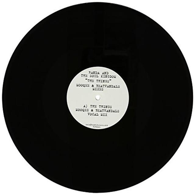Randa & The Soul Kingdom THINGS / MOOQEE & BEATVANDALS MIXES Vinyl Record