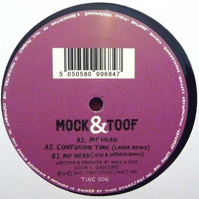 Mock & Toof MY HEAD Vinyl Record