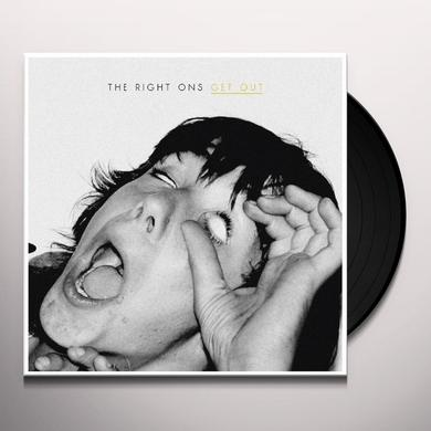 Right Ons GET OUT Vinyl Record
