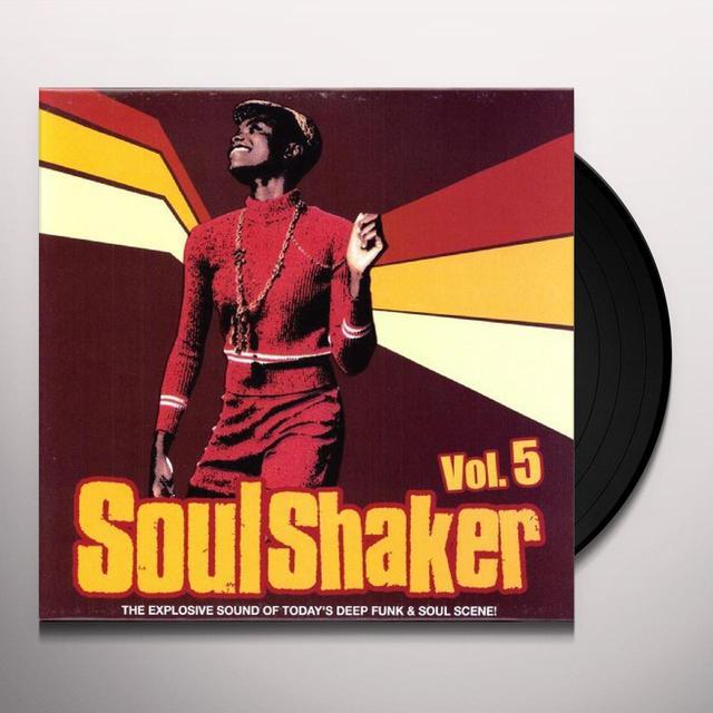 SOULSHAKER 5 / VARIOUS Vinyl Record