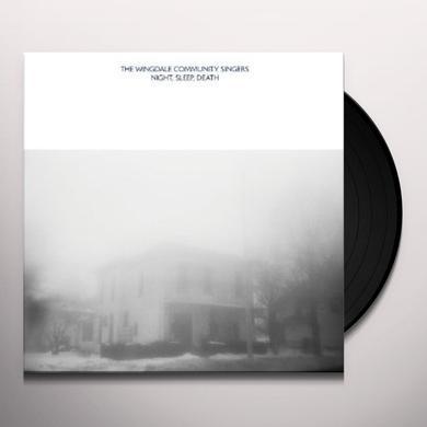 Wingdale Community Singers NIGHT SLEEP DEATH Vinyl Record