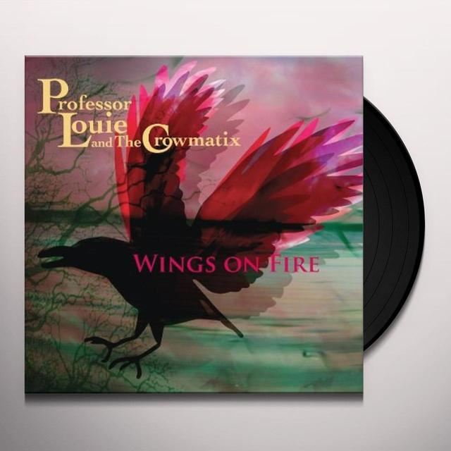 Professor Louie & Crowmatix WINGS ON FIRE Vinyl Record