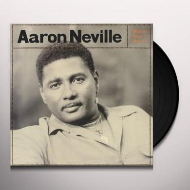 Aaron Neville WARM YOUR HEART Vinyl Record
