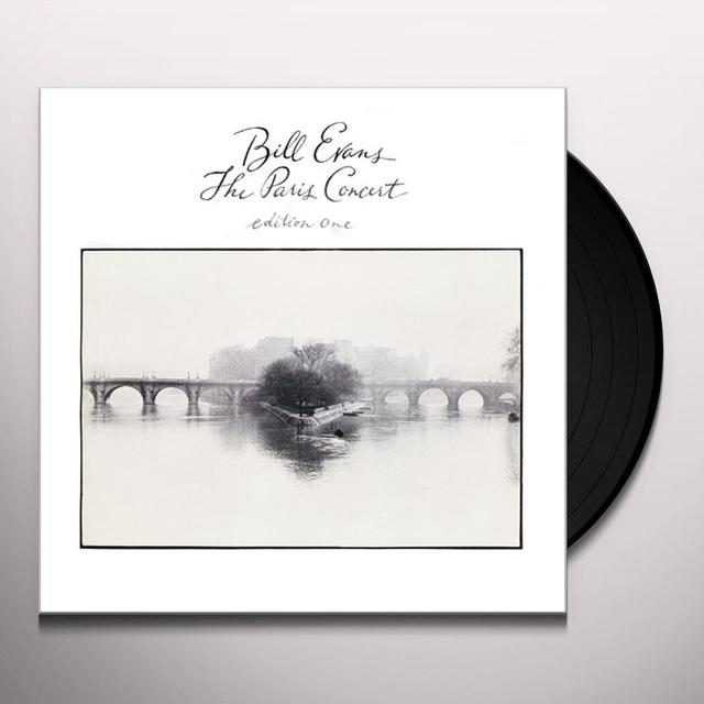 Bill Evans PARIS CONCERT: EDITION ONE Vinyl Record - Gatefold Sleeve, Limited Edition, 180 Gram Pressing