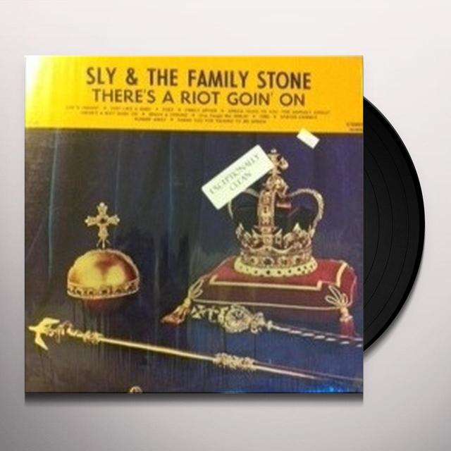 Sly & The Family Stone THERE'S A RIOT GOIN ON Vinyl Record - 180 Gram Pressing