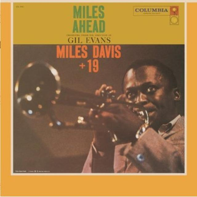 Miles Davis MILES AHEAD Vinyl Record - Holland Import
