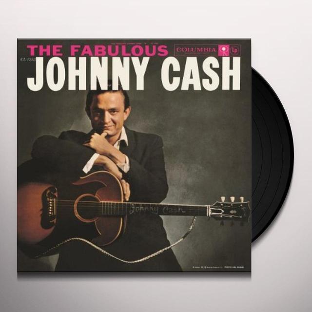 FABULOUS JOHNNY CASH Vinyl Record - Holland Import