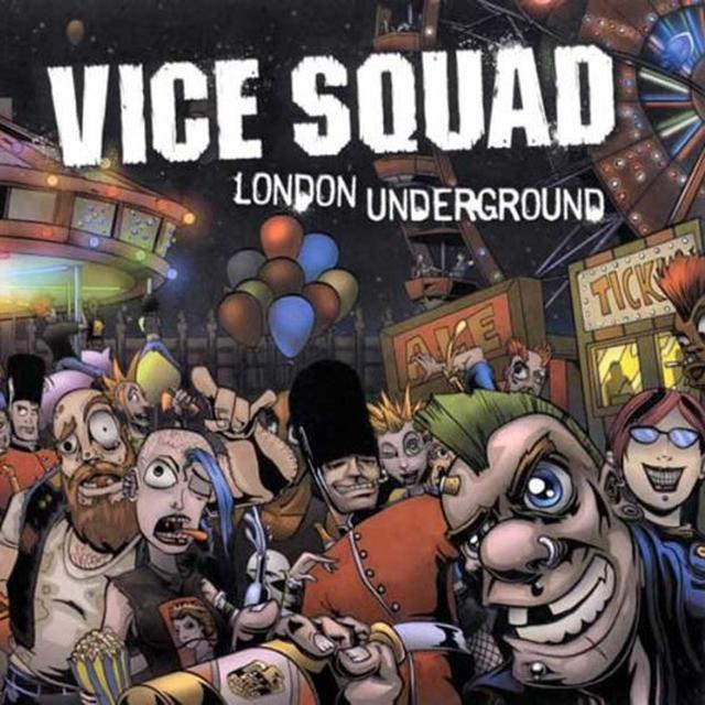 Vice Squad LONDON UNDERGROUND Vinyl Record - Limited Edition