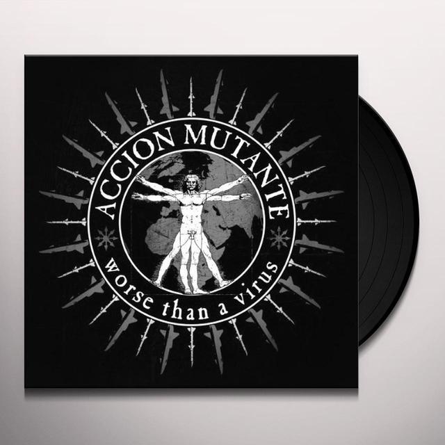 Accion Mutante WORSE THAN A VIRUS Vinyl Record
