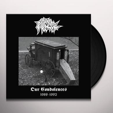 Old Funeral OUR CONDOLENCES Vinyl Record