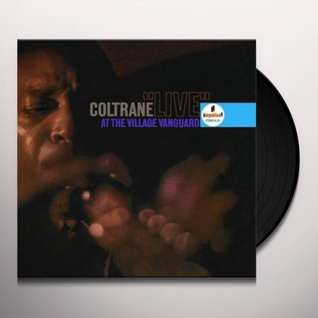John Coltrane LIVE AT THE VILLAGE VANGUARD Vinyl Record - 180 Gram Pressing