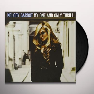 Melody Gardot MY ONE & ONLY THRILL Vinyl Record - 180 Gram Pressing