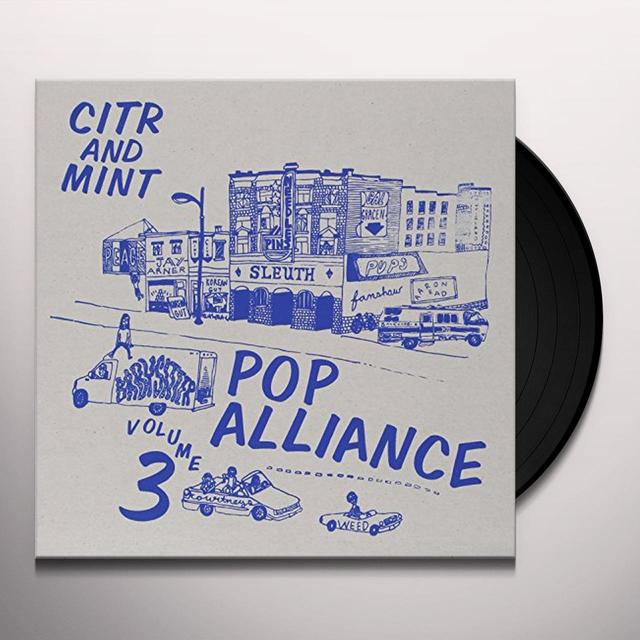 Citr Pop Alliance 3 / Various (Dbtr) (Ltd) CITR POP ALLIANCE 3 / VARIOUS Vinyl Record