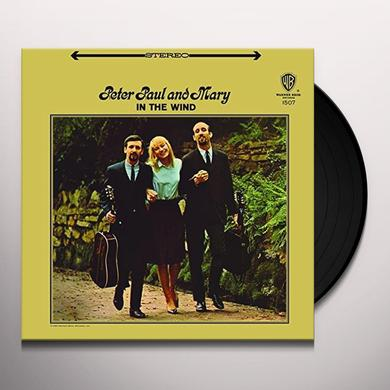 Peter Paul & Mary IN THE WIND Vinyl Record - 180 Gram Pressing
