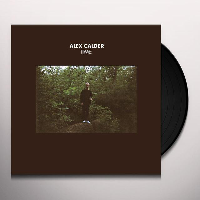 Alex Calder TIME Vinyl Record - Digital Download Included
