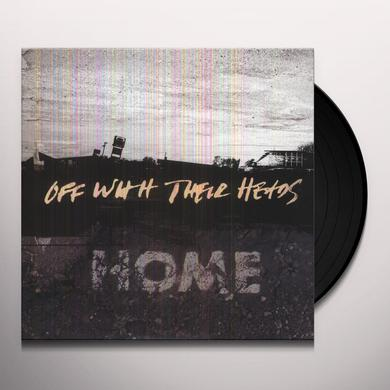 Off With Their Heads HOME (BONUS CD) Vinyl Record