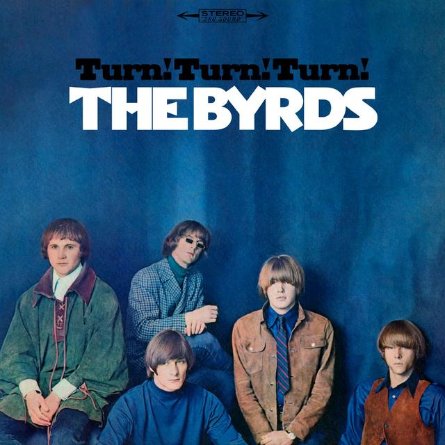 The Byrds TURN TURN TURN Vinyl Record - Limited Edition, Anniversary Edition