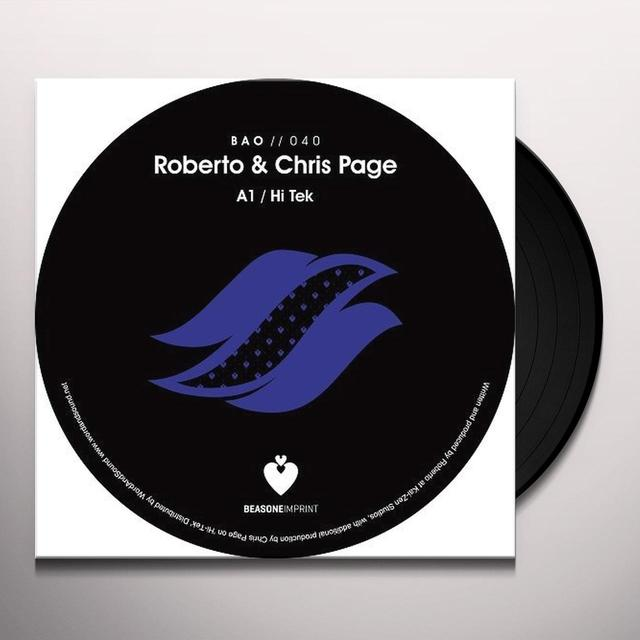 Roberto Page & Chris SPRING TIMES (EP) Vinyl Record