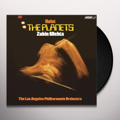 Holst / Mehta / Los Angeles Philharmonic Orchestra PLANETS Vinyl Record