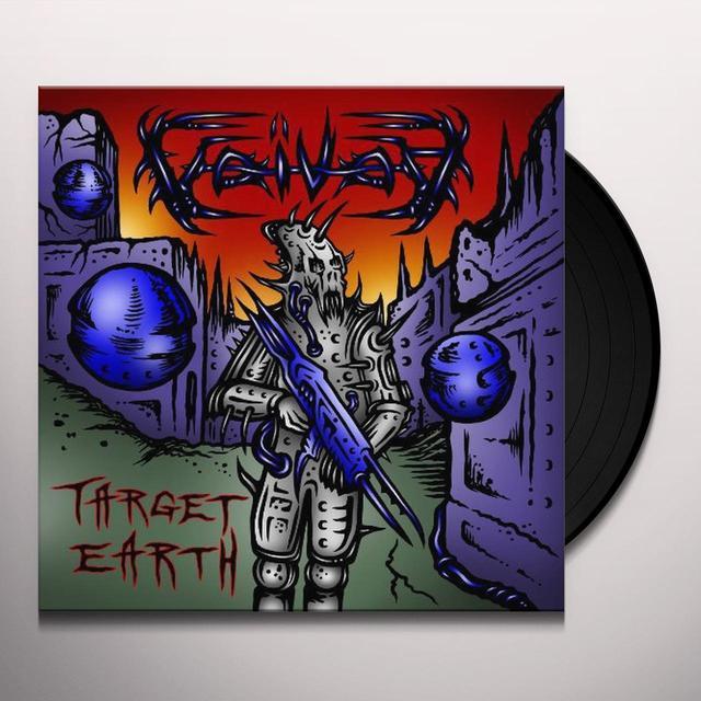 Voivod TARGET EARTH Vinyl Record