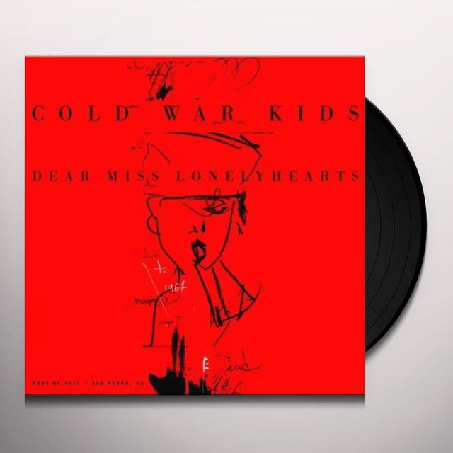 Cold War Kids DEAR MISS LONELYHEARTS Vinyl Record