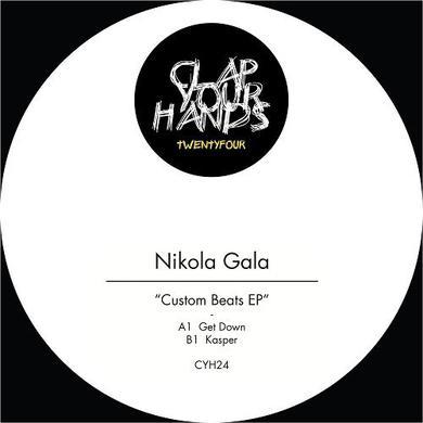 Nikola Gala CUSTOM BEATS Vinyl Record