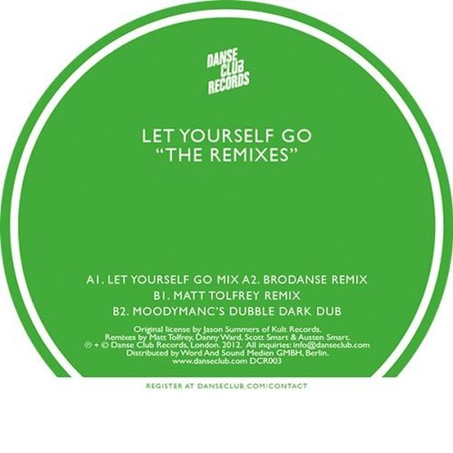 95 North LET YOURSELF GO - THE REMIXES Vinyl Record
