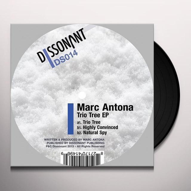 Marc Antona TRIO TREE (EP) Vinyl Record