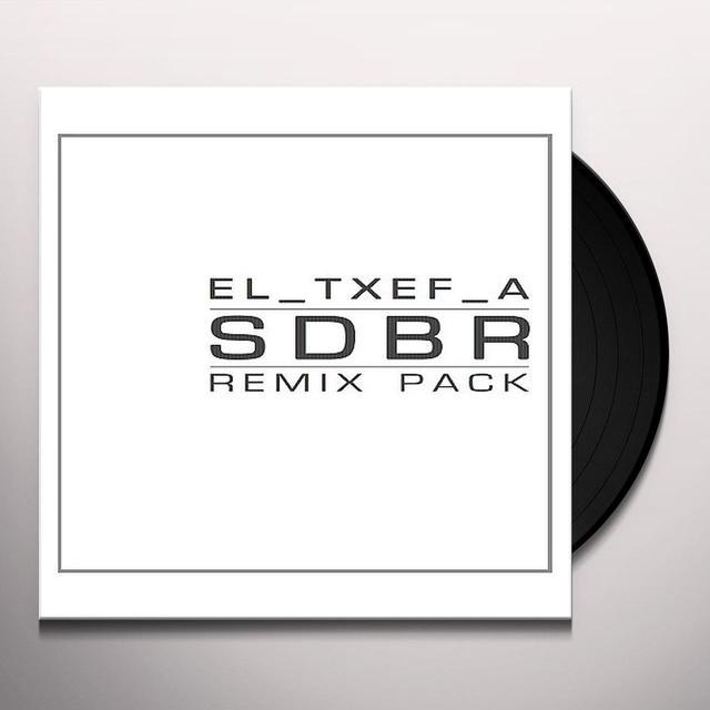 El-Txef-A RISE AND FALL / IN REMIXES Vinyl Record