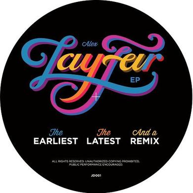 Lay-Far EARLIEST THE LATEST & A REMIX Vinyl Record
