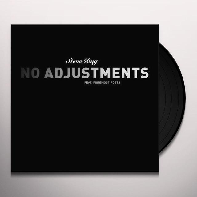 Steve Bug NO ADJUSTMENTS Vinyl Record