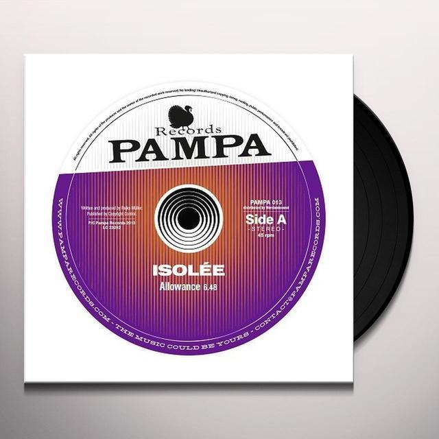 Isolée ALLOWANCE Vinyl Record