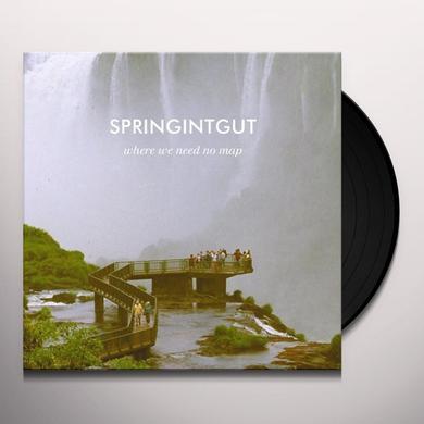 Springintgut WHERE WE NEED NO MAP Vinyl Record