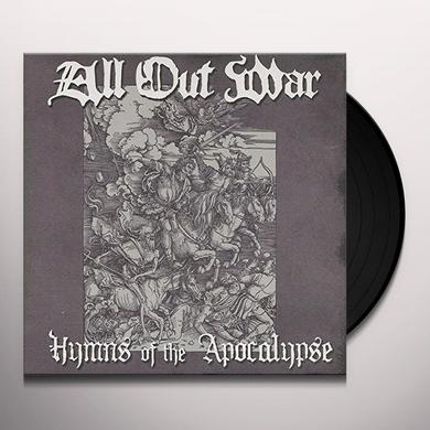All Out War HYMNS OF THE APOCALYPSE Vinyl Record