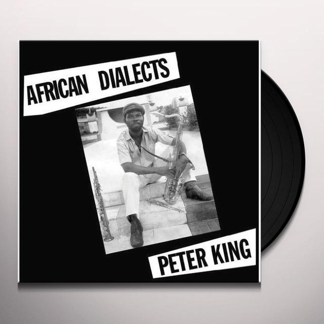 Peter King AFRICAN DIALECTS Vinyl Record - Digital Download Included