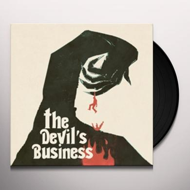 Justin Greaves DEVIL'S BUSINESS Vinyl Record