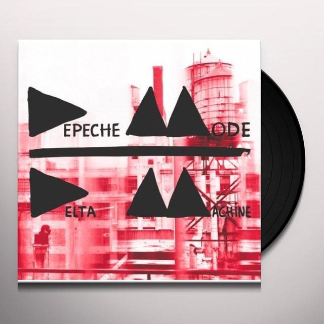 Depeche Mode DELTA MACHINE Vinyl Record - w/CD, 180 Gram Pressing, Deluxe Edition