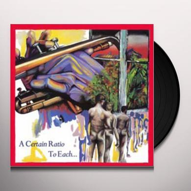 Certain Ratio TO EACH Vinyl Record
