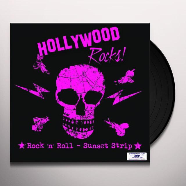 HOLLYWOOD ROCKS / VARIOUS (BOX) (Vinyl)