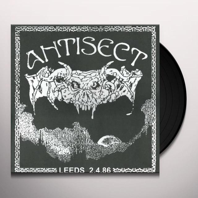 Anti Sect LIVE IN LEEDS 86 Vinyl Record