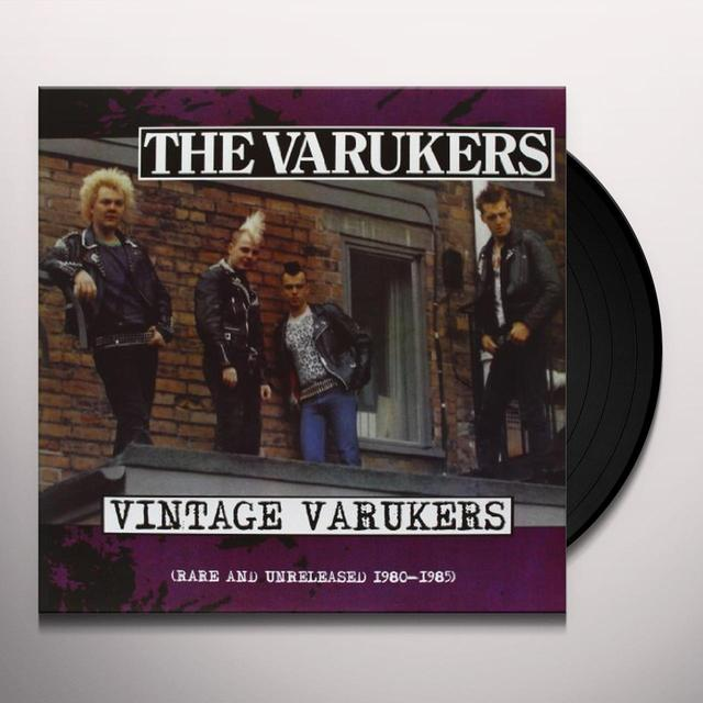 The Varukers 80 - 85 RARE & UNRELEASED Vinyl Record
