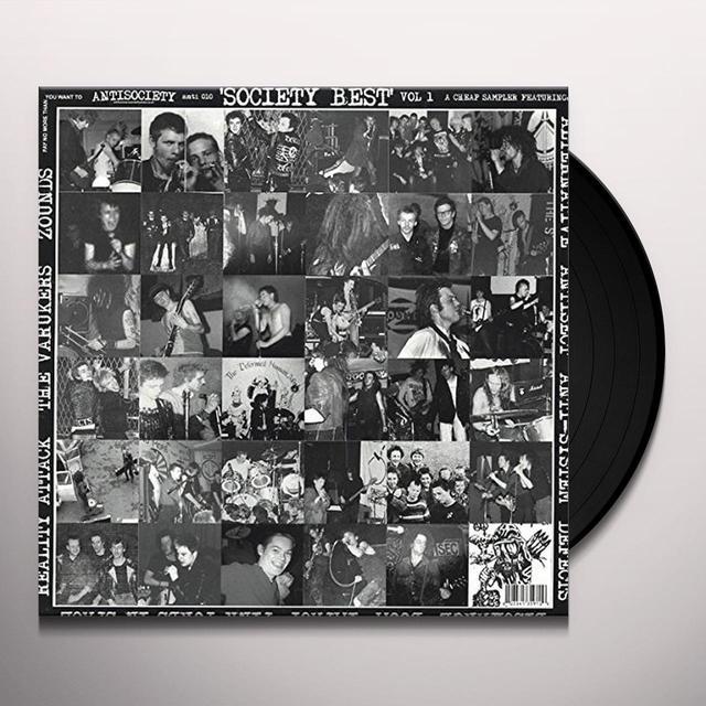SOCIETY BEST 1 / VARIOUS Vinyl Record