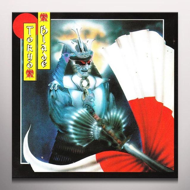 Tokyo Blade NIGHT OF THE BLADE Vinyl Record - Reissue, Colored Vinyl