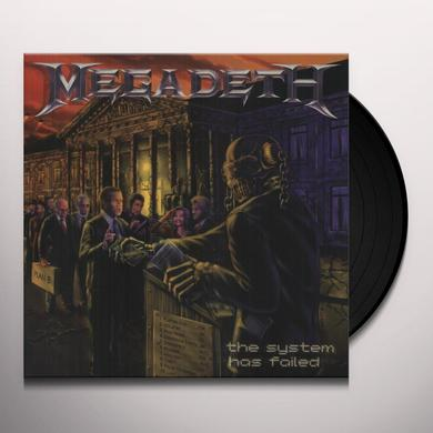 Megadeth SYSTEM HAS FAILED Vinyl Record - Holland Import