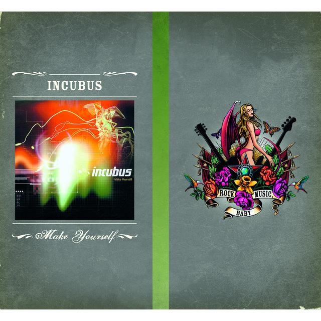 Incubus MAKE YOURSELF Vinyl Record