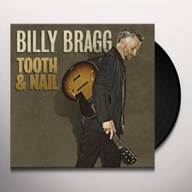 Billy Bragg TOOTH & NAIL Vinyl Record