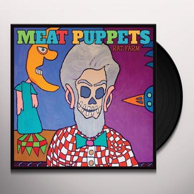 Meat Puppets RAT FARM Vinyl Record