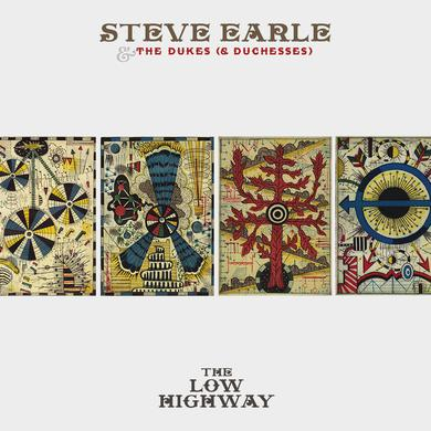 Steve Earle & The Dukes LOW HIGHWAY Vinyl Record