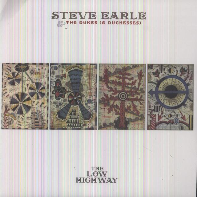 Steve Earle & The Dukes LOW HIGHWAY Vinyl Record - 180 Gram Pressing