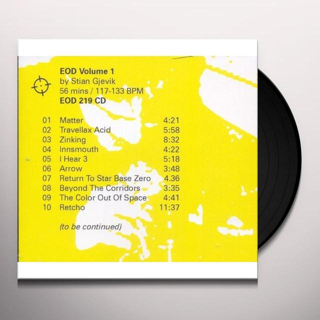 EOD 1 Vinyl Record